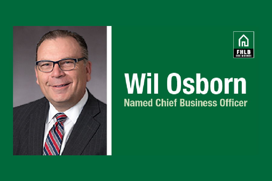 Meet Wil Osborn - FHLB Des Moines Chief Business Officer