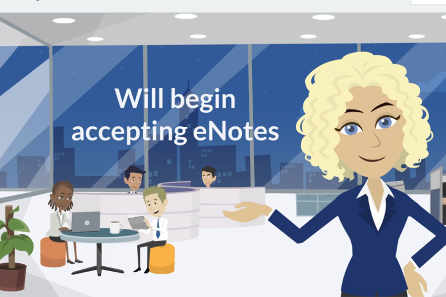System Video: Accepting eNotes