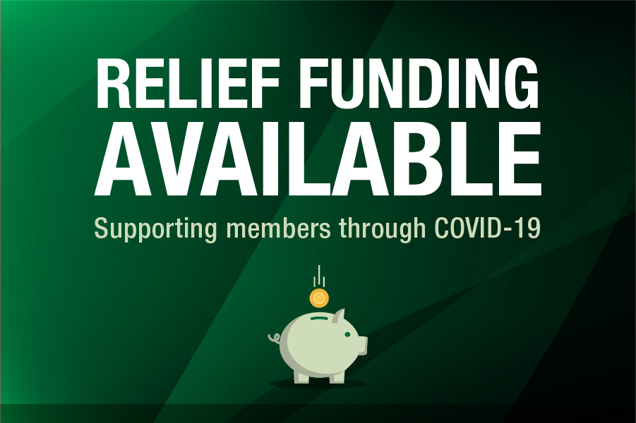 Special Relief Funding Available for Members