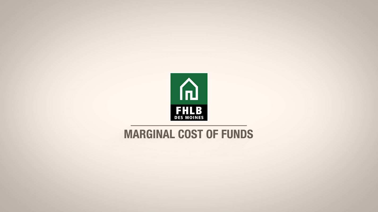 Marginal Cost of Funds